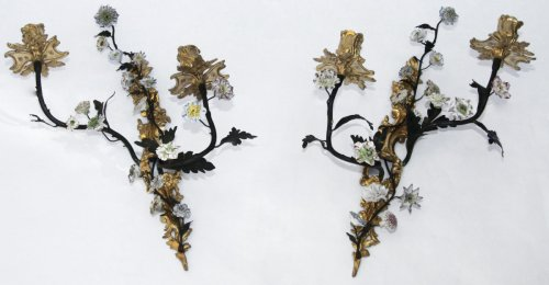 Pair of Louis XV wall lights