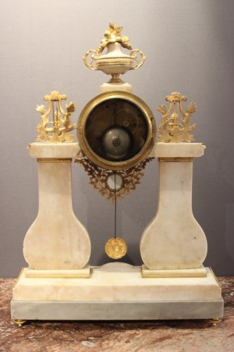 Louis XVI marble clock -