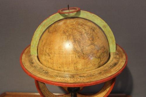 Earth globe dated 1831 -