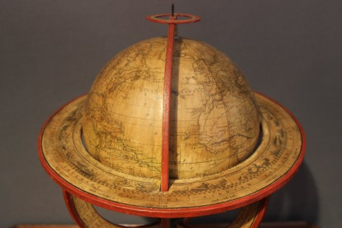 19th century - Earth globe dated 1831