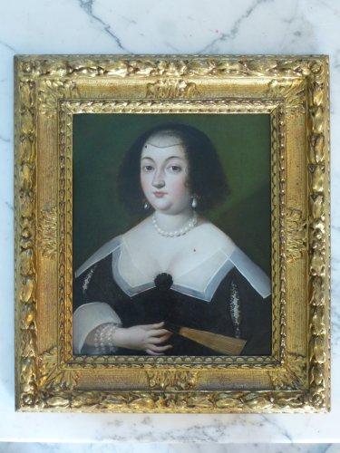 Pair of portraits, French School circa 1640