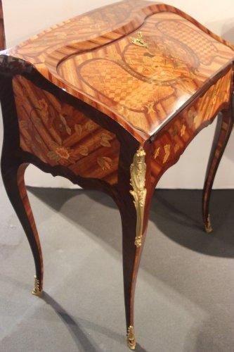 Furniture  - Small Louis XV  bureau de pente