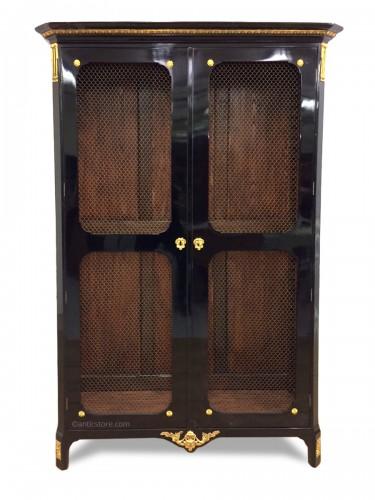 Louis XVI bookcase Stamped Joseph FEUERSTEIN