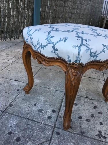 Louis XV stool - Seating Style Louis XV