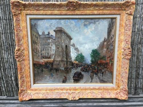 Henry MALFROY (1895-1944) - View of Paris - Paintings & Drawings Style