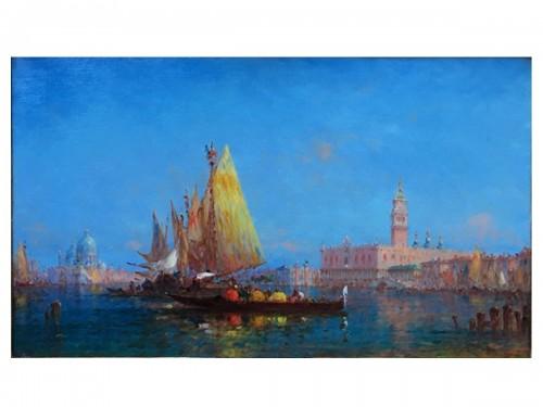 View of Venice - Charles-Clément CALDERON (1870-1906)
