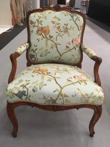 Seating  - Pair of Louis XV fauteuils stamped Cresson