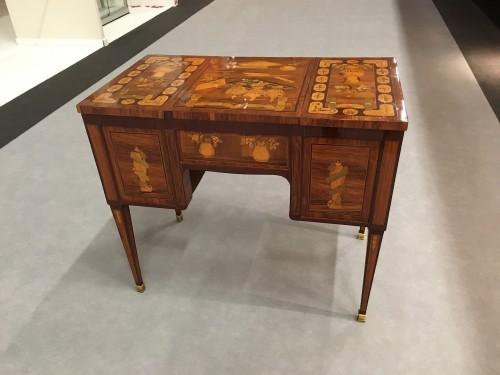 Furniture  - Louis XVI Coiffeuse stamped Bircklé