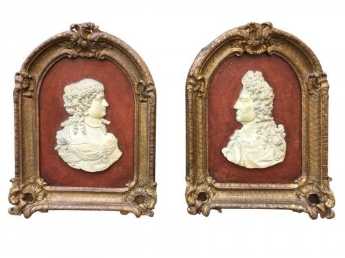 Paire of Louis XIV frames