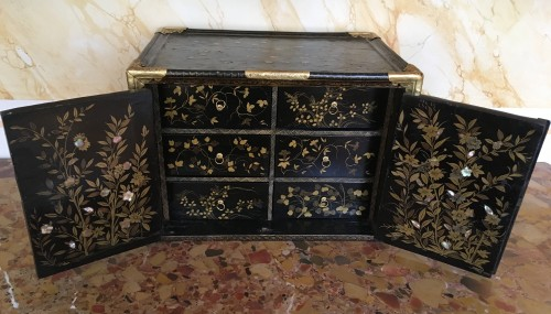 Namban cabinet circa 1568-1615 - Asian Art & Antiques Style