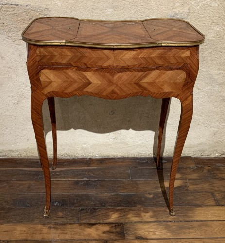 Small table stamped Saunier - Louis XV