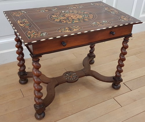 Louis XIV small table - Furniture Style Louis XIV