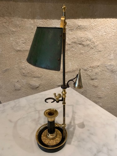 18th century - Bouillotte lamp