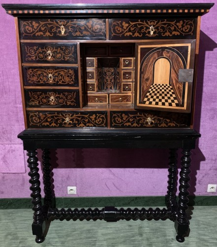 Louis XIV cabinet - Furniture Style Louis XIV