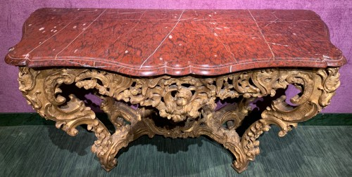 Louis XV console - Furniture Style Louis XV