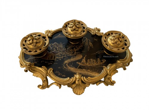 Lacquer inkwell