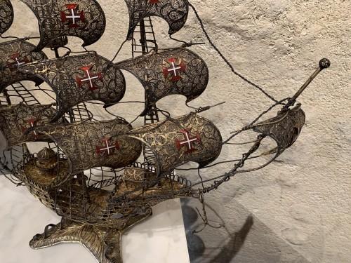 Spanish three masts galleon -