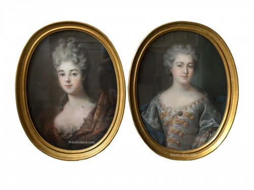 Pastel portraits 18th century