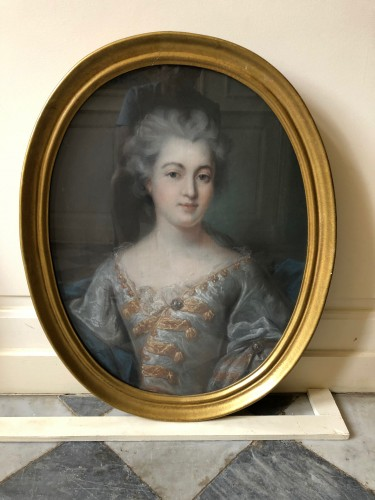 Pastel portraits 18th century  - Paintings & Drawings Style