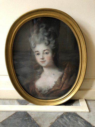 Paintings & Drawings  - Pastel portraits 18th century