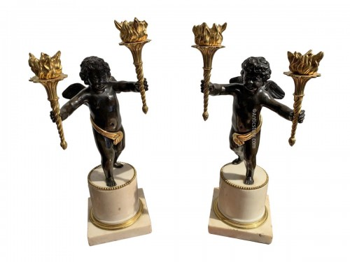Pair of Louis XVI putti