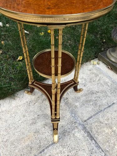 Pedestal table model Adam Weisweiler -