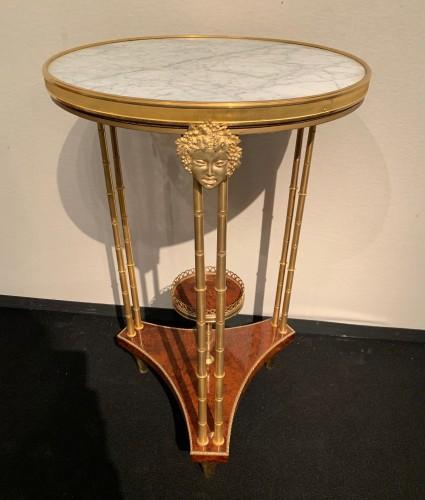 Furniture  - Pedestal table model Adam Weisweiler