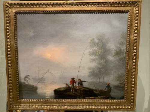 Paintings & Drawings  - Pair of maritime scenes, french school of the 18th century