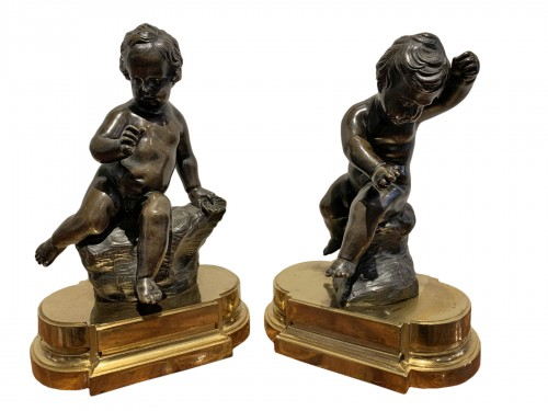 Pair of Louis XVI period putti