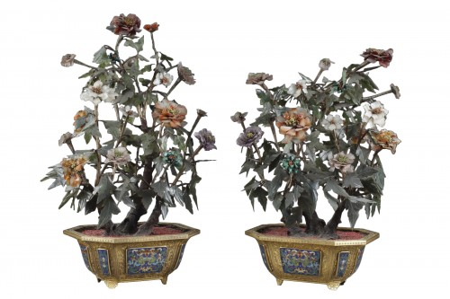 Pair of Qianlong period planters