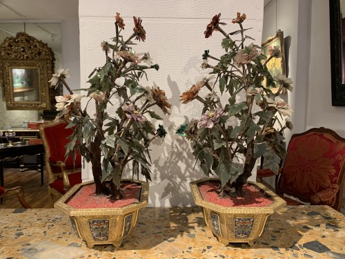 Pair of Qianlong period planters - Asian Works of Art Style