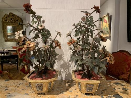 Pair of Qianlong period planters -