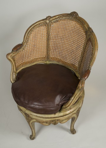 Louis XV desk armchair - Louis XV