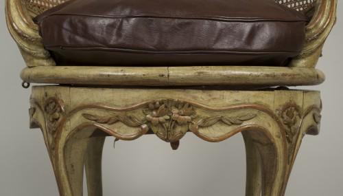 Antiquités - Louis XV desk armchair