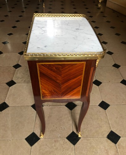 Small table stamped by J. Birckle - Furniture Style Transition