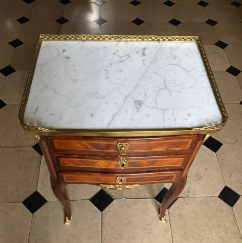 18th century - Small table stamped by J. Birckle