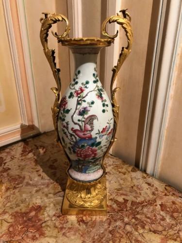 18th century - Pair of Louis XVI Period Vases