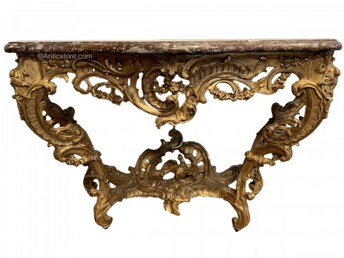 Louis XV console
