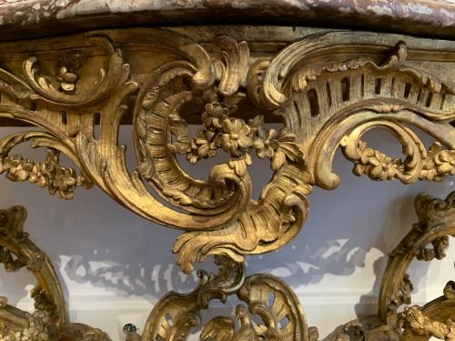 Louis XV console -