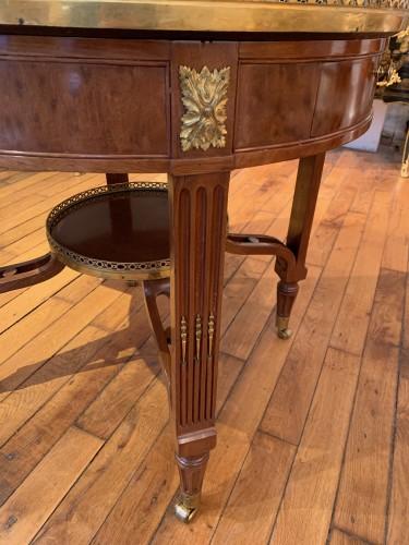 Louis XVI period pedestal table -