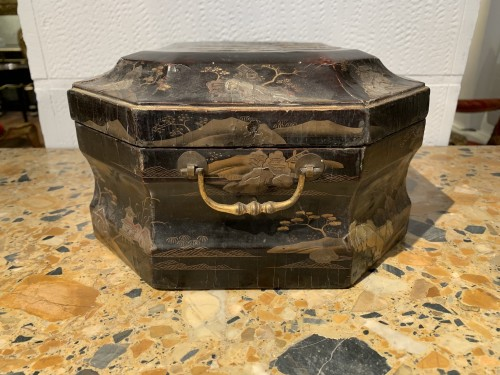 Louis XV wig box -