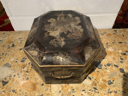18th century - Louis XV wig box