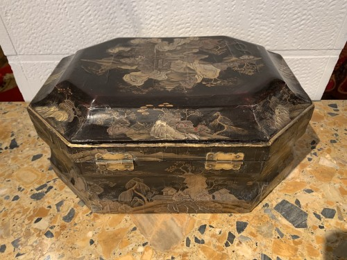 Louis XV wig box - Louis XV