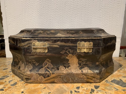 Louis XV - Louis XV wig box