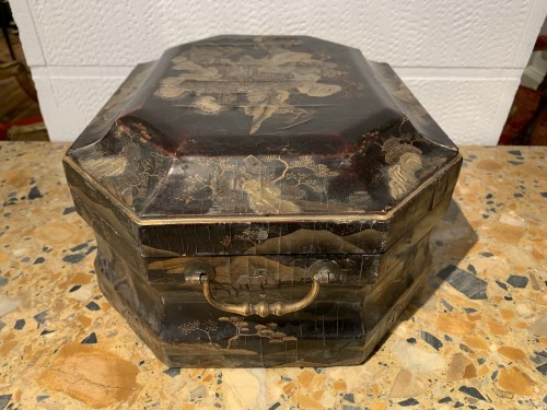 Antiquités - Louis XV wig box