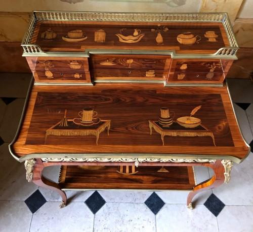 Bonheur du jour by Pierre Roussel - Furniture Style Transition