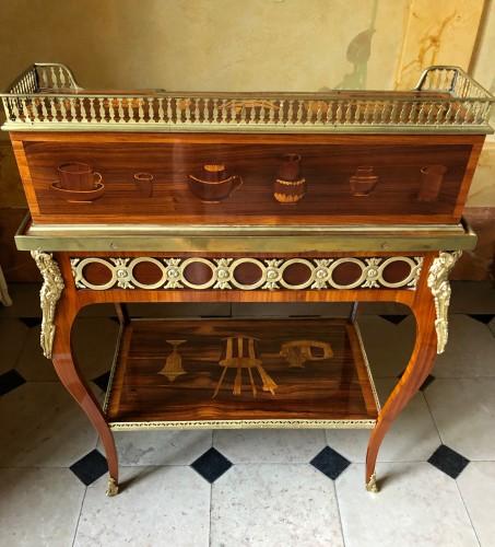 Furniture  - Bonheur du jour by Pierre Roussel