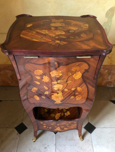 Transformation table stamped DUBUT - Louis XV