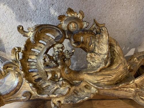 Antiquités - Louis XV console
