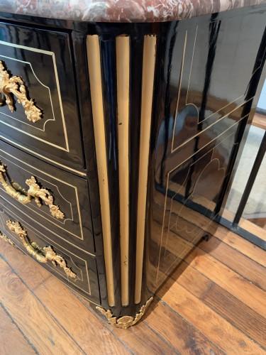 Louis XIV ebony chest of drawers - Louis XIV